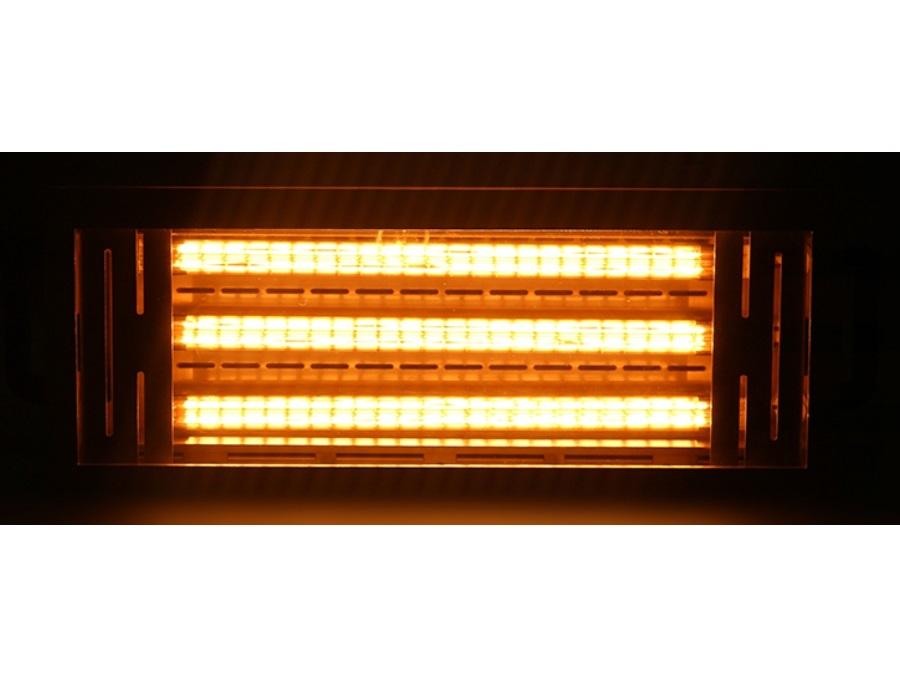 Lampade riscaldanti ad infrarossi e bulbi di ricambio for Lampada infrarossi riscaldamento pulcini