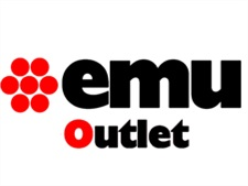 EMU OUTLET CHARLESTON SEDIA EMU MARRONE INDIA/MARRONE SCURO