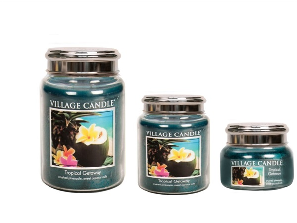 Candela profumata Village Candle®, Tropical getaway