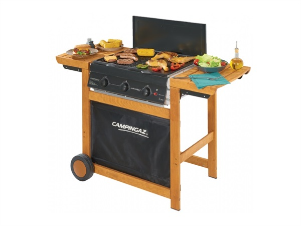 Barbecue Adelaide 3 Woody, Dual gas Metano/GPL