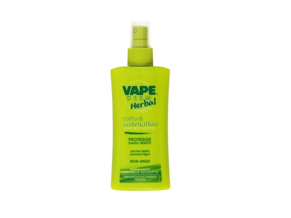 VAPE Lozione antipuntura vaper derm herbal, 100 ml