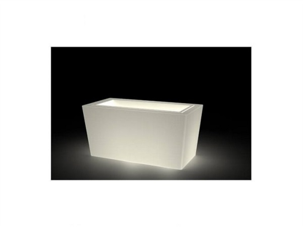 KLORIS VASO IONICO NEUTRO + KIT ILLUMINAZIONE STRAIGHT