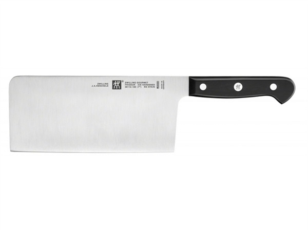 ZWILLING J.A.HENCKELS ITALIA Coltello chef cinese lama 18 cm in acciaio inox TWIN® gourmet zwilling