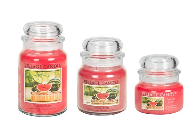 Candela profumata village candle®, Summer Slices