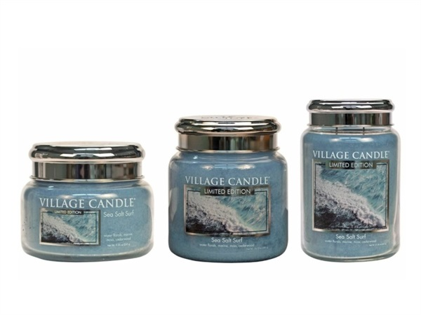Candela profumata Village Candle®, Sea Salt Surf