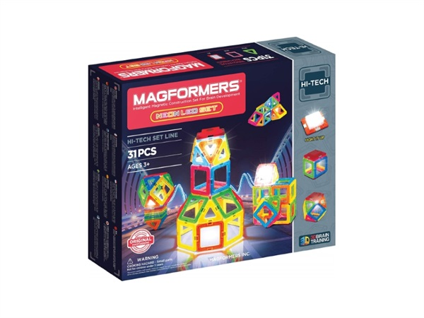 Magformers Neon LED