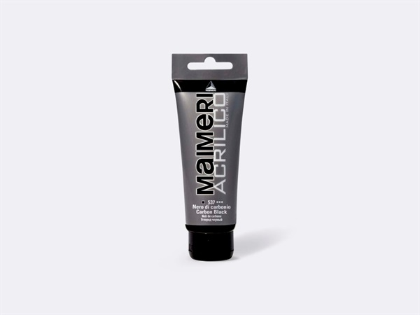 MAIMERI Acrilico polycolor 75 ml - nero carbone