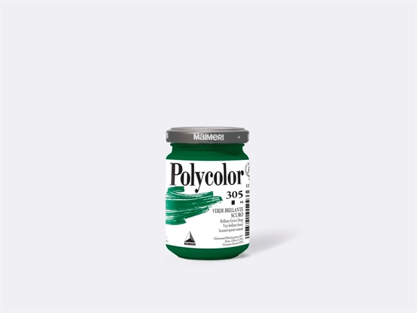 MAIMERI Acrilico polycolor 140 ml - Verde brillante scuro