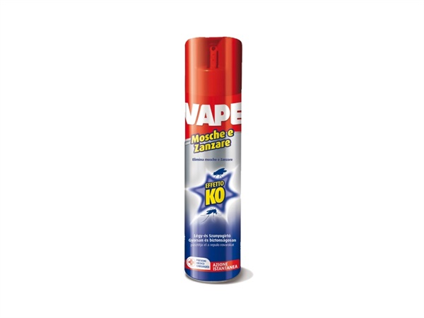 VAPE Spray per mosche e zanzare, 300 ml