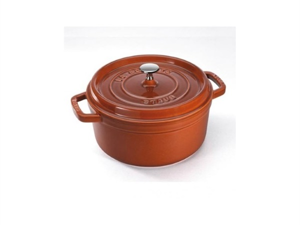 STAUB Cocotte 28 cm Cannella in Ghisa