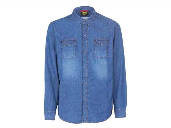 DIADORA CAMICIA DENIM    BLUE