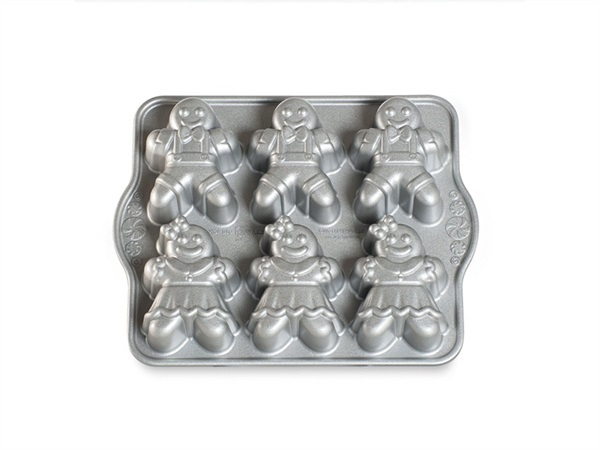 NORDIC WARE STAMPO GINGERBREAD KIDS