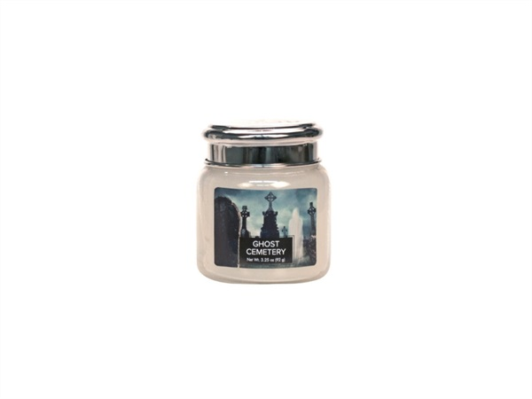 VILLAGE CANDLE Candela profumata village candle®, Halloween ghost cemetery 3,75 OZ /92 G