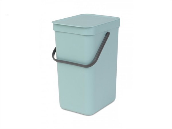 Pattumiera sort & go - 12 lt - mint