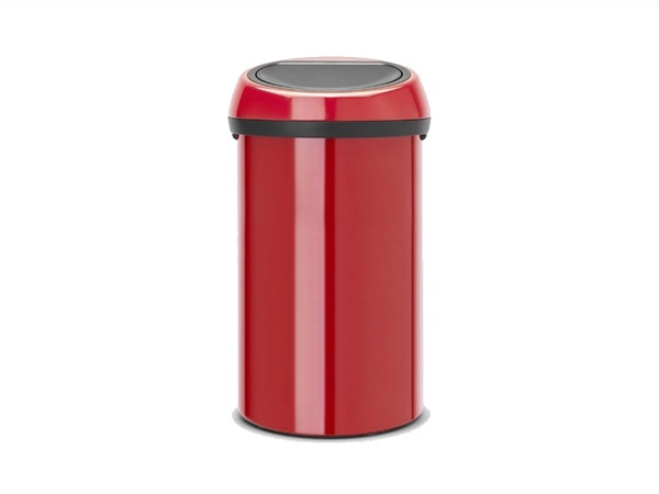 BRABANTIA Pattumiera touch bin 60 lt passion red