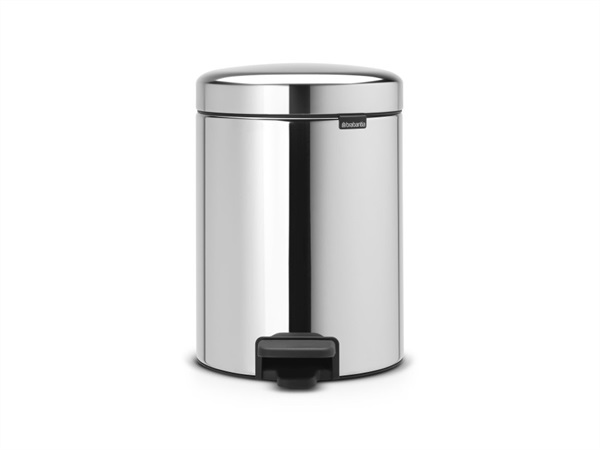 BRABANTIA PATTUMIERA A PEDALE NEW ICON BRILLIANT STEEL