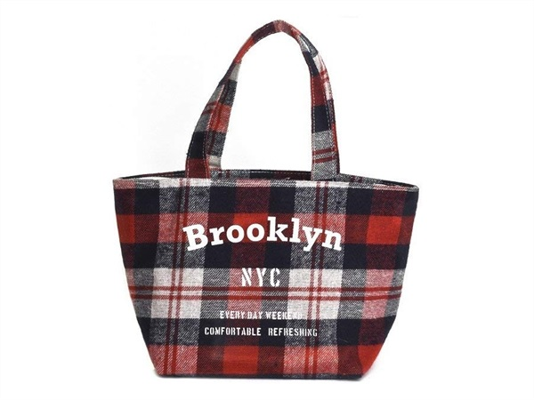 TRADING GROUP Lunch bag rossa Brooklyn