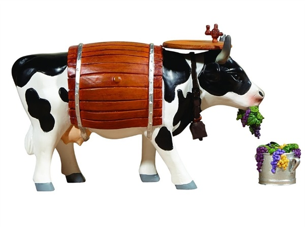 COWPARADE Clarabelle the Wine Cow