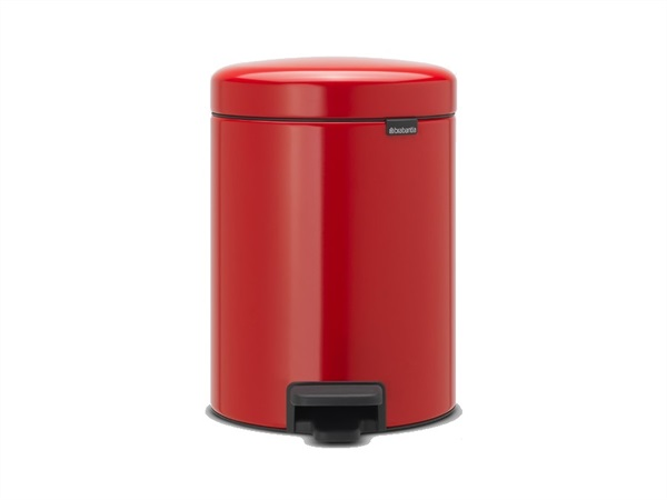 BRABANTIA Pattumiera a Pedale Bin New Icon 5L Passion Red
