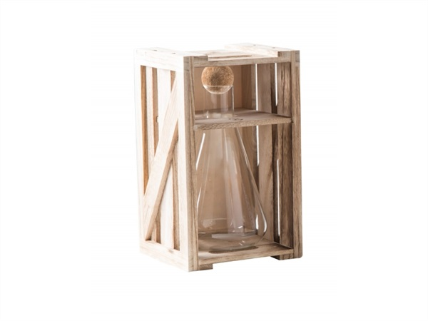 BRANDANI GIFT GROUP S.A.S. DECANTER ALCHIMIA IN VETRO BOROSILICATO CON TAPPO IN SUGHERO 750ML