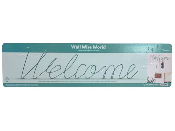 TRADING GROUP APPENDIABITI WALL WIRE WORDS WELCOME