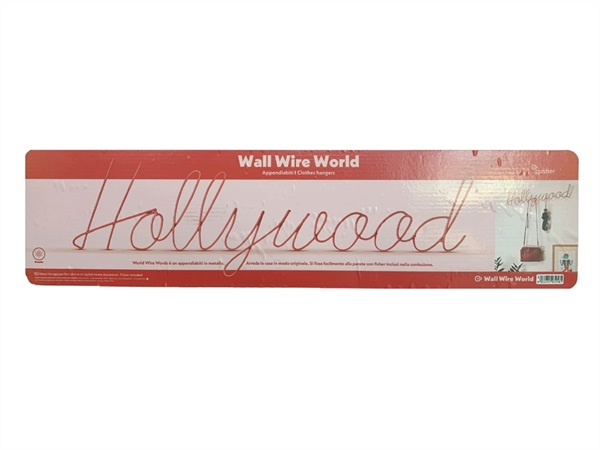 TRADING GROUP APPENDIABITI WALL WIRE WORDS HOLLYWOOD