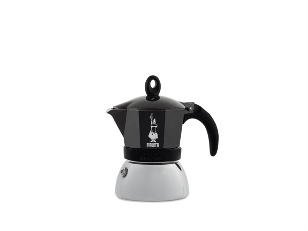 BIALETTI INDUSTRIE INDUCTION MOKA NERO