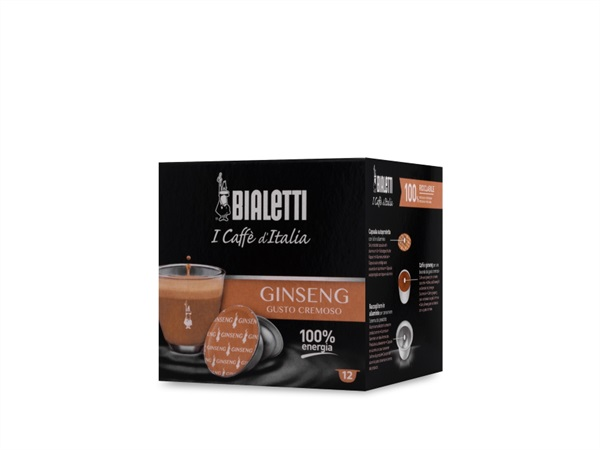 BIALETTI INDUSTRIE BOX 12 CAPSULE GINSENG