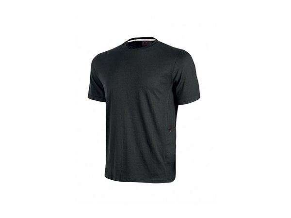 UPOWER T-SHIRT ROAD   BLACK CARBON