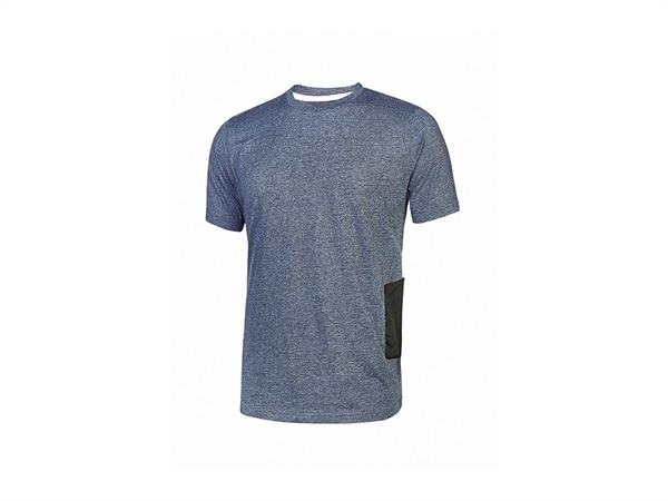 UPOWER T-SHIRT ROAD   DEEP BLU
