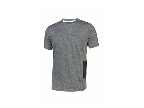 UPOWER T-SHIRT ROAD   GREY METEORITE