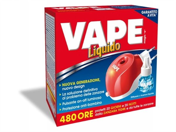 VAPE Vape magic liquido spina 480h