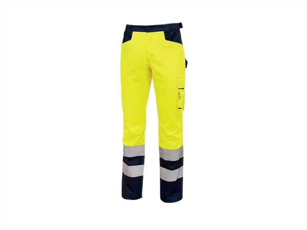 UPOWER Pantaloni light giallo fluo