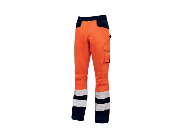 UPOWER Pantaloni light arancio fluo