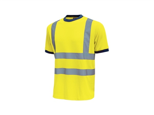 UPOWER T-shirt mist giallo fluo
