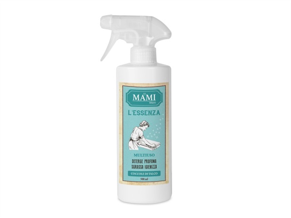 MAMI MILANO Spray Multiuso 500 ml - Coccole di talco