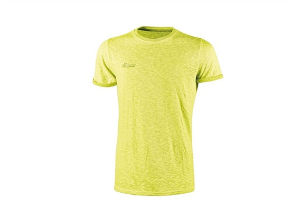 UPOWER T-SHIRT FLUO YELLOW
