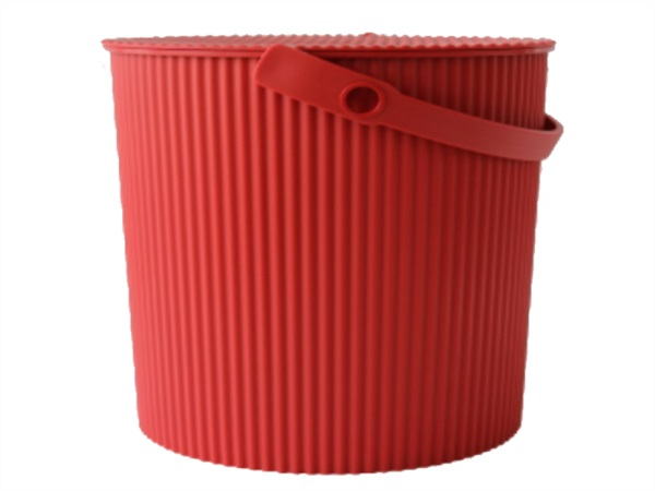 HACHIMAN Omnioutil, bucket large, rosso