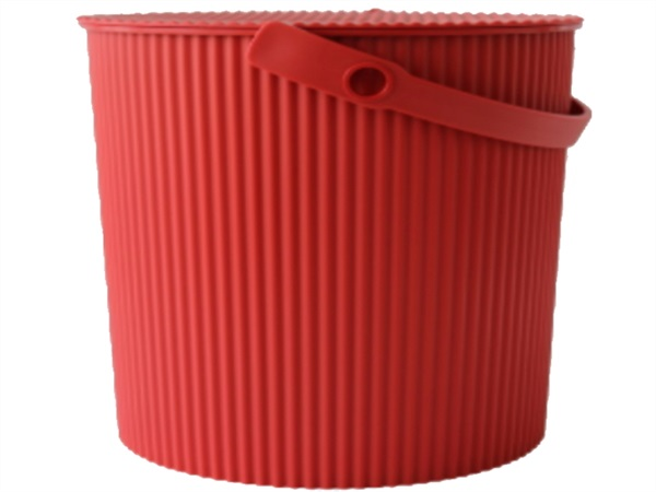 HACHIMAN Omnioutil, bucket large large, rosso