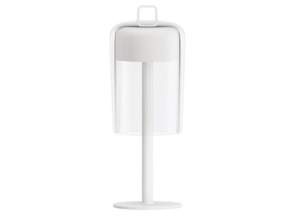 Fratelli guzzini s p a lampada da tavolo senza fili ricaricabile soir e guzzini green - Lampada da tavolo senza fili ...