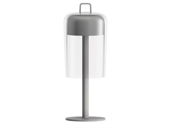 Fratelli guzzini s p a lanterna senza fili ricaricabile soir e guzzini chrome acquista su - Lampada da tavolo senza fili ...