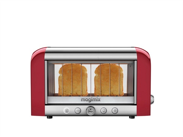 Tostapane Toaster Vision Magimix rosso