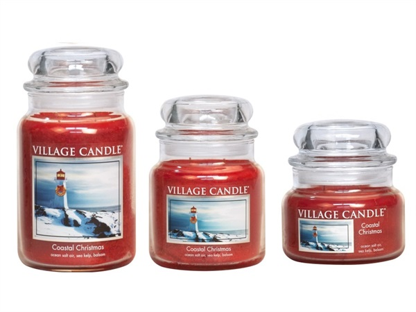 Candela profumata Village Candle®, Coastal Christmas