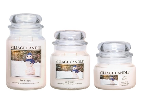 Candela profumata Village Candle®, Let is snow