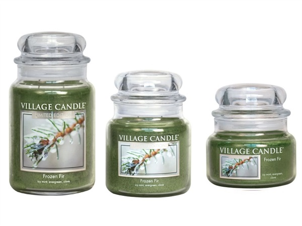 Candela profumata Village Candle®, Frozen Fir