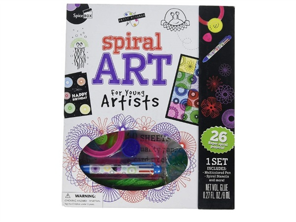 SPICE BOX Spiral art