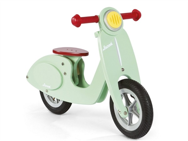 Scooter color menta
