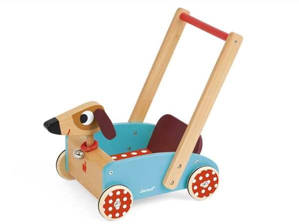 Carretto di legno, crazy doggy
