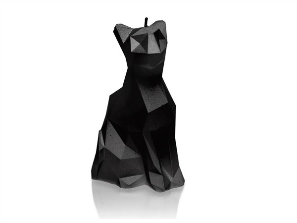 CANDELLANA CANDLES Candela Gatto Low Poly Candellana