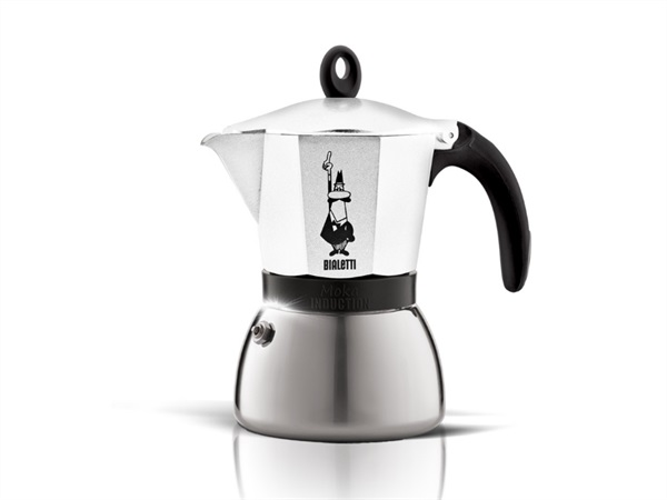 BIALETTI INDUSTRIE MOKA INDUCTION WHITE